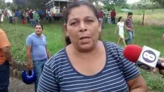 ACCIDENTE EN EL 175 Y MEDIO CARRETE JUIGALPA EL RAMA