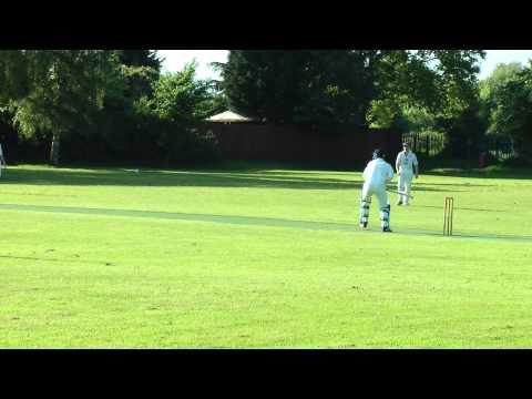 Andy Cowham batting for Eaton Socon CC v Lt Paxton CC at Lt Paxton 0526-2013_175050
