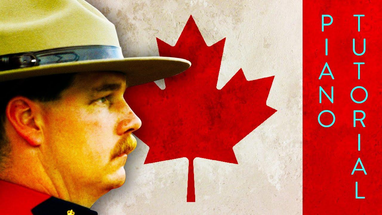O Canada - Piano Tutorial