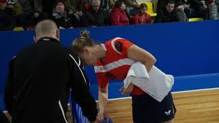 Elena TROSHNEVA - Xin LIU ETTU CUP Полуфинал, 2017/2018
