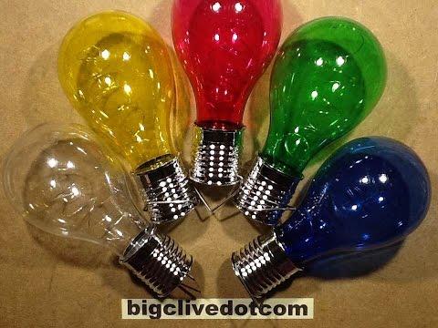 """Poundland's 2016 solar """"firefly"""" lamps."""