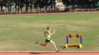 Чемпионат России по эстафетному бегу короткая шведка ( 400, 300, 200, 100)