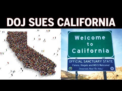 Trump DOJ Sues California Over Immigration, Sanctuary State Laws (REACTION)