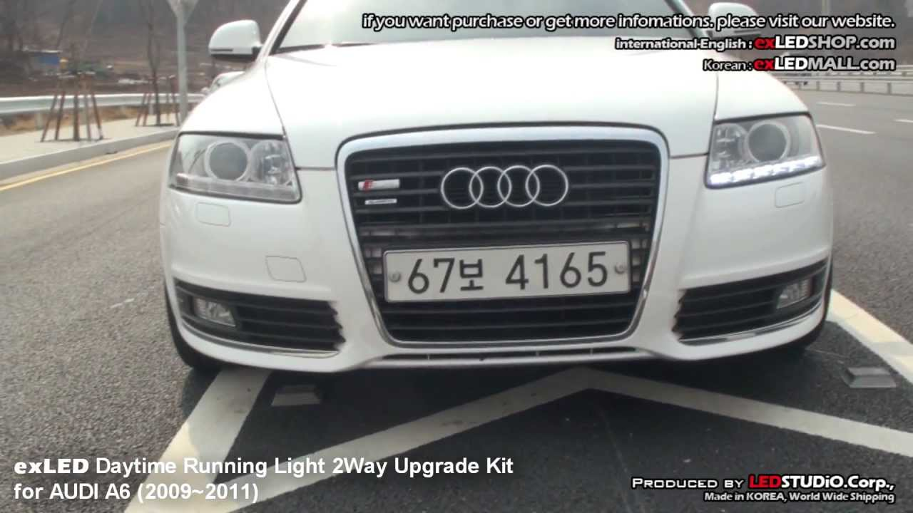 exLED Daytime Running Light 2Way Upgrade for AUDI A6 09'~11'