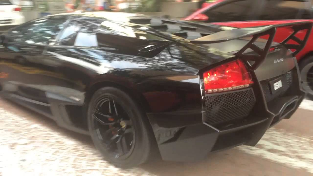 Lamborghini Murcielago Sv Black In Malaysia Youtube