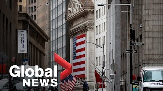 Coronavirus outbreak: Wall Street soars 7% on hopes of slowing COVID-19 deaths | FULL