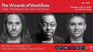 The Wizards of Workflow - Design, Photography and Video