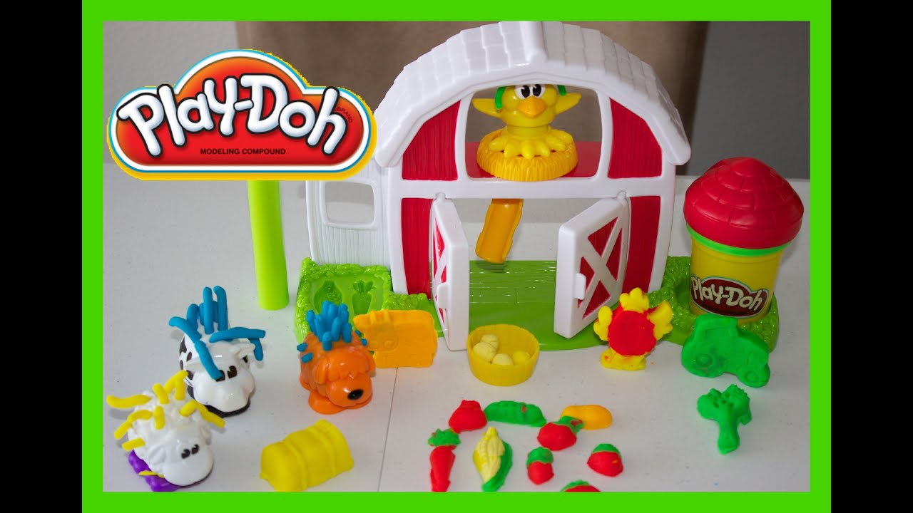 Play-Doh Barnyard Pals Play Set Review N Play| Shape Play ...