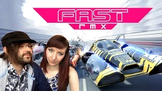 fast rmx nintendo switch wipeout f zero racing game gameplay part 1
