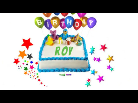 Happy Birthday Roy Cake
