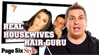 Real Housewives Hair Stylist Explains His Hairstyles for Kenya Moore, LVP, and More | Page Six Style