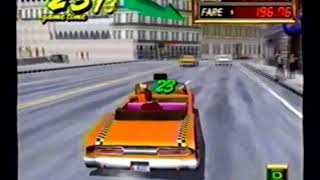 Crazy Taxi 2 old gameplay (2002)