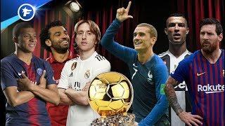 Les 30 nommés pour le Ballon d'Or 2018 !