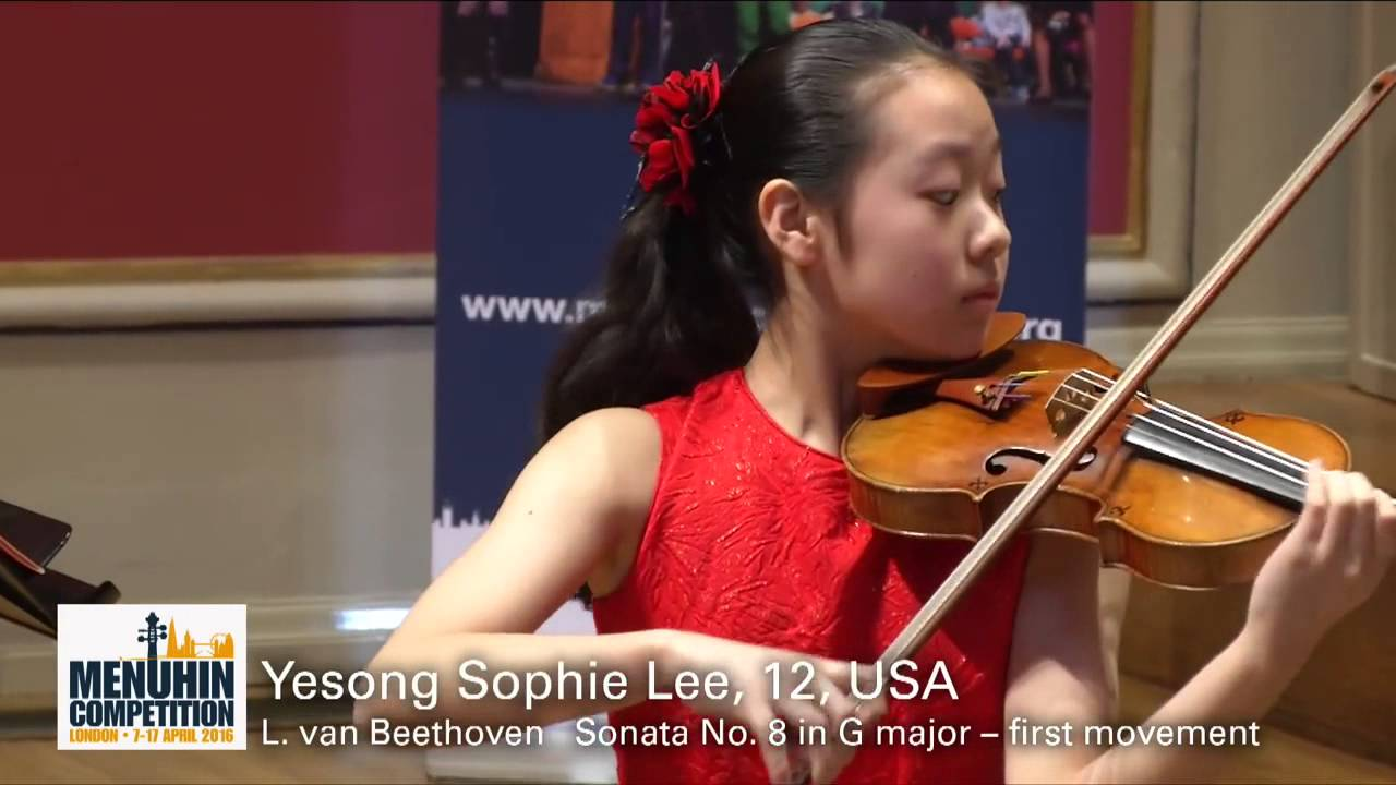 Yesong Sophie Lee 12 USA Recital
