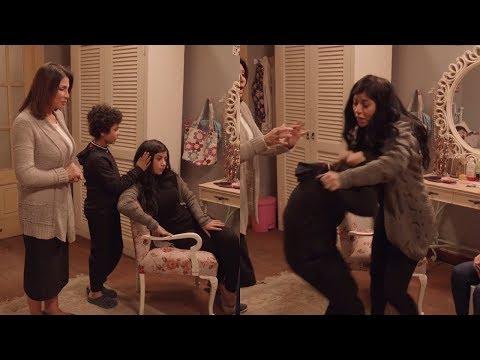 كوميديا مرزوق مع هاجر .. ( شعرك جميل اوي يا هاجر .. ده فسيخ ) 😂 #أبو_العروسة