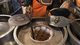 Taiwanese Street Food - Hu Ziao Bing  Pepper Meat Buns
