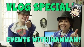 YOGSKIM VLOG Special! BAFTA, E3, Mandrew and Hannah!