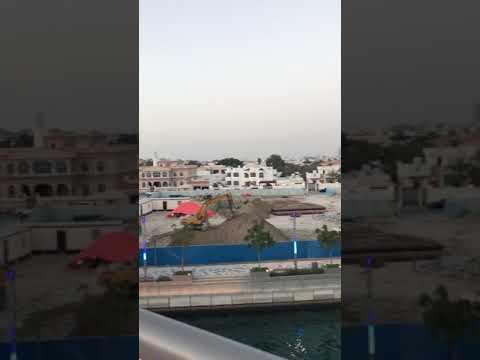 Dubai canal near safa park dubai