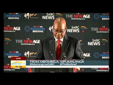 President Jacob Zuma's opening speech
