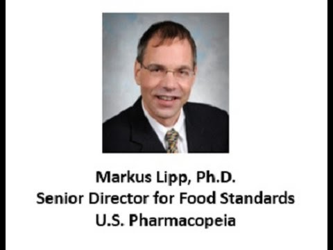 Food Fraud  with Senior Director of Food Standards at the United States Pharmacopeial Convention USP