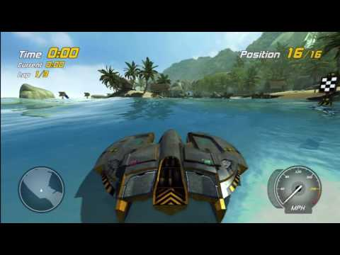 Hydro Thunder Hurricane - All Races with DLC (Tempest) Speedrun in 25:58 (Xbox 360)