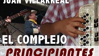 PRINCIPIANTES: El Complejo - Los Cachorros de Juan Villarreal (Tutorial - Slow) Accordion Blog