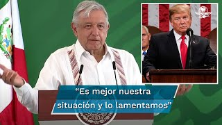 El titular del Ejecutivo federal indicó que tiene muy buena relación con el gobierno de Donald Trump y con el embajador de Estados Unidos en México, Christopher Landau