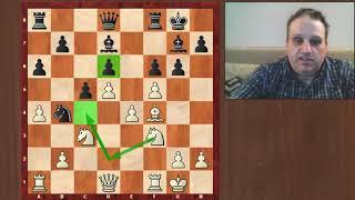 Kasparov-Nunn, Chess Olympiad, 1982