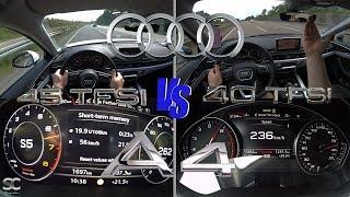 Audi A4 45 TFSI (241 hp) VS Audi A4 40 TFSI (188 hp)