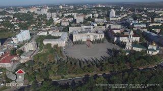 Аэросъемка города Липецк (панорама)