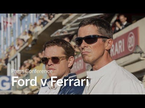 Press Conference: Ford V Ferrari