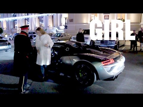 Girl Driving Porsche 918 Spyder Youtube