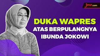 Duka Mendalam Ma'ruf Amin Atas Berpulangnya Ibunda Jokowi - JPNN.com