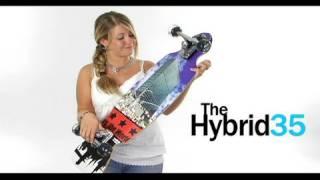 The Hybrid 35 Longboard Surf Simulator by Original Skateboards