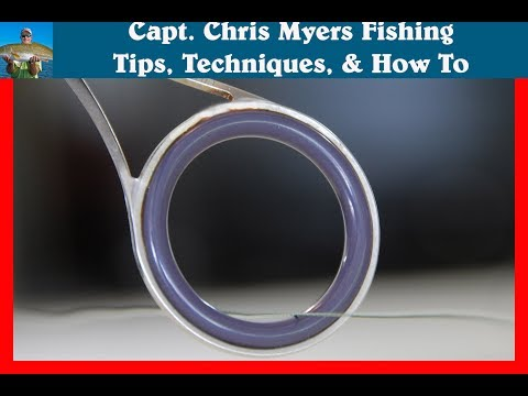 Braided Fishing Line And Rod Guides