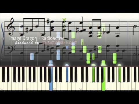 Imagine Dragons - Radioactive - Music Sheets - Piano Tutorial