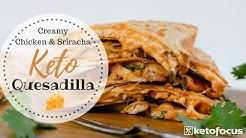 KETO QUESADILLA | BUDGET KETO FOOD | Easy Keto Recipe using Rotisserie Chicken