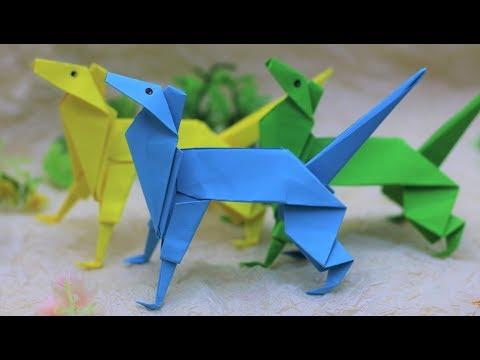 Paper Folding Art (Origami): How to Make  Shepherd Dog