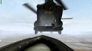 Arma 2 OA - Chinook Extraction Fail
