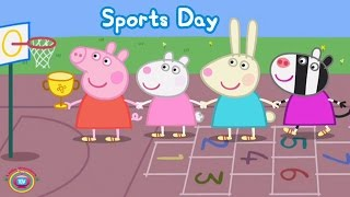 ☀ PEPPA PIG SPORTS DAY ☀ FULL GAMEPLAY ☀ BEST iPAD APP DEMO FOR KIDS ☀