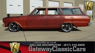 1965 Chevrolet Nova Wagon #322-DFW Gateway Classic Cars of Dallas