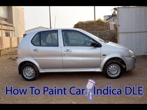 How to paint a car – Tata Indica Dle