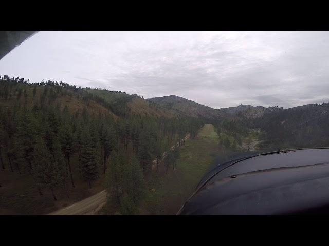 Weatherby Airstrip Landing