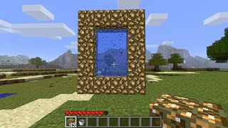 Minecraft: How to mąke a Portal to Heaven - (Minecraft All Portals to Heaven)