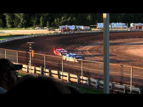 EWSC Racing Late Model Heat 1 8/17/2012