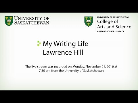 Lawrence Hill: My Writing Life
