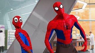 Peter Parker Life Recap Scene  Spider Man Into The Spider Verse 2018 DMovie Clip H