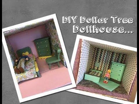 DIY DOLLAR TREE LOL SURPRISE DOLLHOUSE | DIY Miniature Dollhouse