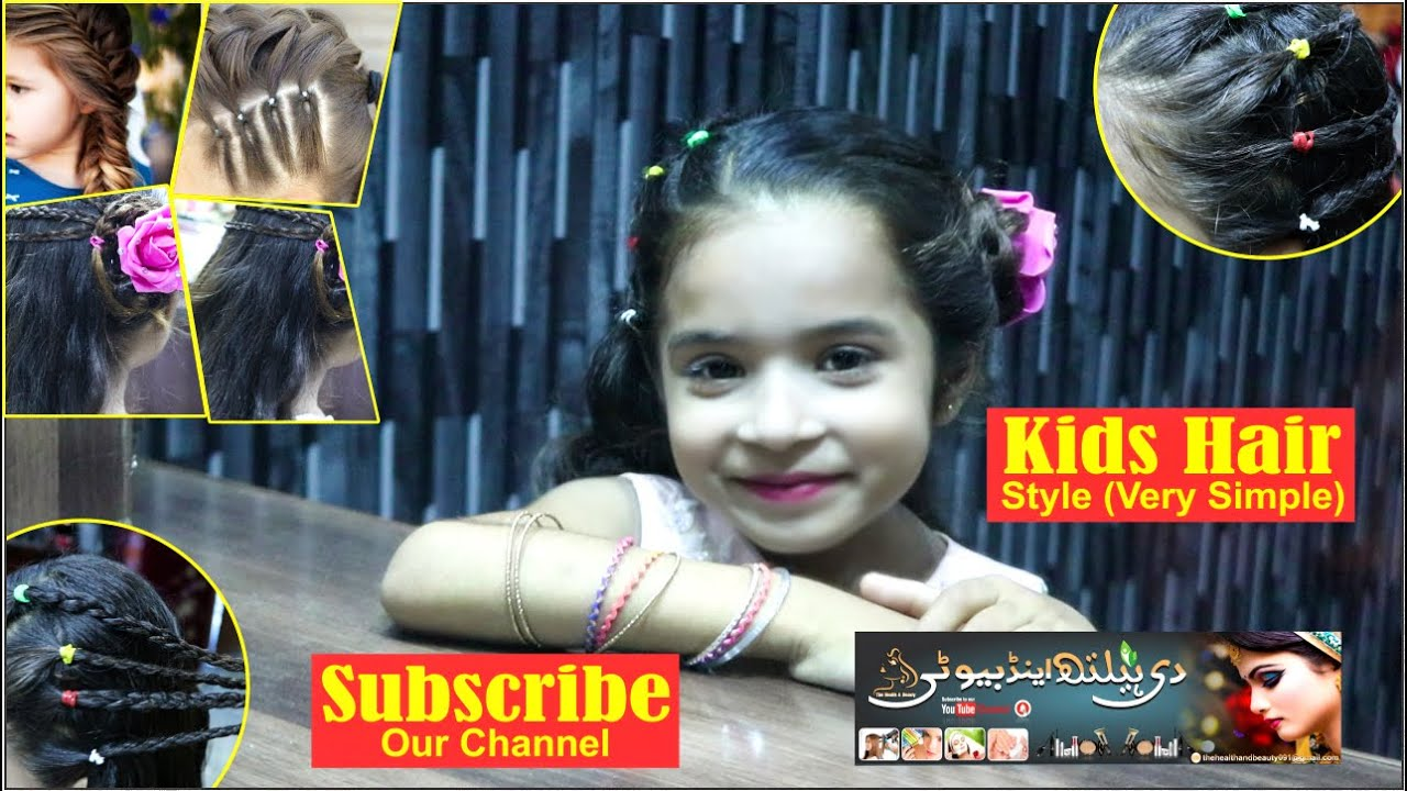 Baby Hair Style Quick Easy Hairstyles For Baby Girl S Day To Day Kids Hair Style 2020 Youtube