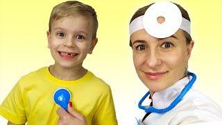 Doctor Checkup Song   동요와 아이 노래   어린이 교육